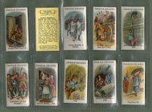 Collectable Tobacco cigarette cards set Famous Escapes 1926